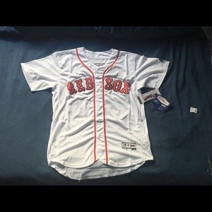 Boston Red Sox  #50 Mookie Betts New White Jersey